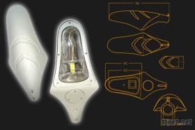 魟魚型路燈