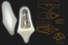 魟鱼型路灯