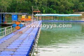 组合式多功能水上浮动系统
