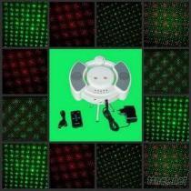 MP3音樂紅綠聲控激光舞台燈