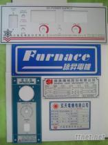 機械電器控制鋁面板