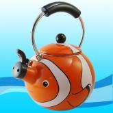 小丑鱼珐瑯茶壶