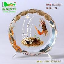 海洋琥珀台飾﹘千年情台飾精品系列