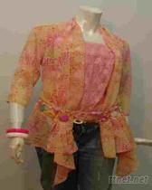 2009春夏印花罩衫