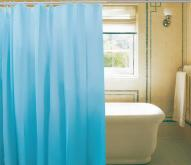 PVC素色浴帘