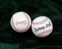 又出口到韩国5000只发泡橡胶芯PVC软式棒球