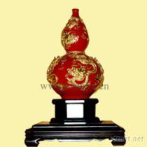 五龍葫蘆紅瓶
