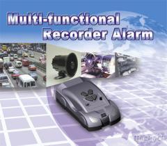 迷你型多功能錄音警報器