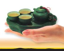 袖珍型環保旅行茶具組
