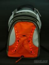 防水可水洗的LED發光背包