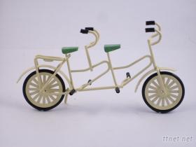 袖珍娃娃屋配件(迷你協力腳踏車)