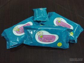 婴儿护肤柔湿巾
