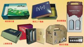 裱浪纸盒, 纸盒, 包装盒