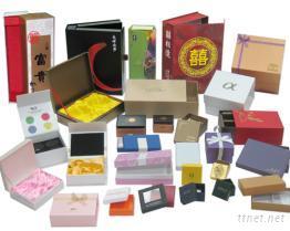 手工盒, 彩盒