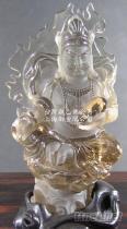 茶晶水晶雕刻, 佛像