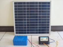 太陽能充放電控制系統