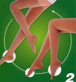 大腿包趾/露趾彈性健康襪