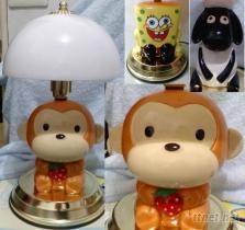 創意卡通造型燈飾(海綿寶/笑笑羊/招財貓)
