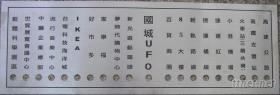控制面板,機械規格標示牌,操作面板等設計製作
