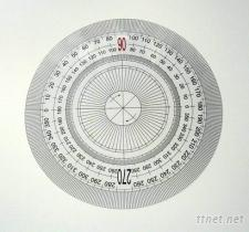 PVC圓型量角尺