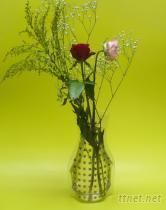 金蔥扁花瓶