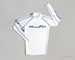白色潛水衣防磨衣