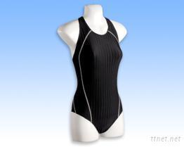 中叉競賽型女泳衣