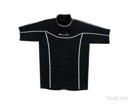 黑色潛水衣防磨衣