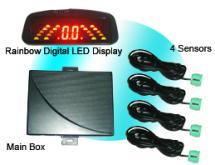 色段LED倒車雷達