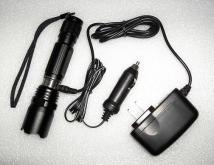 Cree LED鋁合金充電手電筒