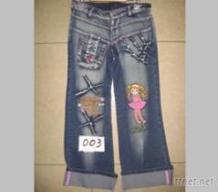 兒童牛仔褲