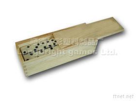 木盒装骨牌
