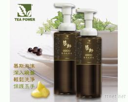 《TEA POWER》天然茶籽酵素幕斯洗潔液-餐具專用-500ml