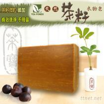 《TEA POWER 》天然茶籽衣物皂-80g