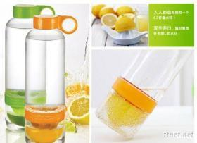 创意便携手动榨汁柠檬杯