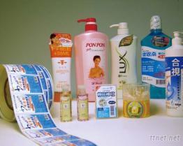 清潔用品貼紙