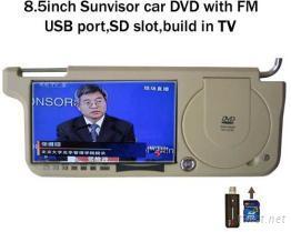 8.5吋擋陽板DVD播放器