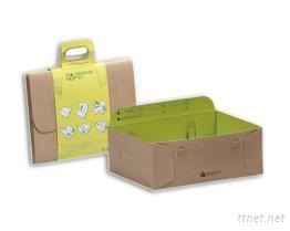 一体成型展示盒,摺叠纸盒