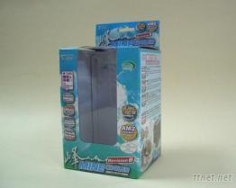 电子产品包装盒,吊卡式开窗盒