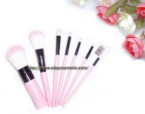 粉紅色七支化妝刷組