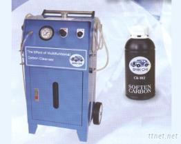 引擎燃燒室積碳清洗機 + 環保泡沬除碳劑