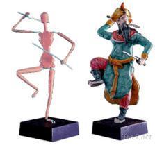 人像支架雕塑DIY創作材料