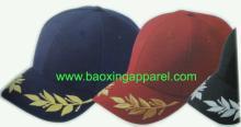 王者棒球帽,橄欖葉繡花