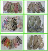 EVA沙灘鏤空鞋、菜板鞋、草席拖鞋等