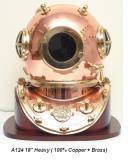 銅製潛水帽