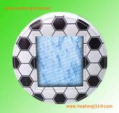 足球造型相框