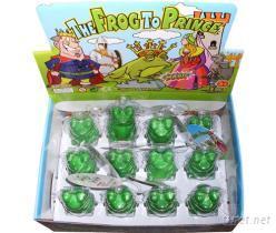 青蛙變王子膨脹青蛙