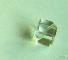 斜孔四方玻璃珠