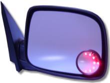 通用型LED後視鏡方向警示燈 (廣角圓鏡)
