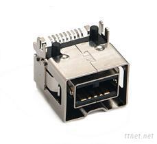IEEE1394 9pin SMT type